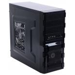 корпус ATX 3Cott 1811 без БП, черный, фильтр от пыли