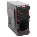 корпус ATX 3Cott 1818 без БП, черный, фильтр от пыли