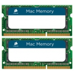 модуль памяти DDR3 2x8Gb 1333MHz, Corsair CMSA16GX3M2A1333C9 RTL PC3-10600 CL9 SO-DIMM 204-pin 1.5В