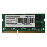 модуль памяти DDR3 8Gb 1600MHz, Patriot PSD38G16002S RTL PC3-12800 CL11 SO-DIMM 204-pin 1.5В
