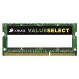 модуль памяти DDR3L 4Gb 1600MHz, Corsair CMSO4GX3M1C1600C11 RTL PC3-12800 CL11 SO-DIMM 204-pin 1.35В