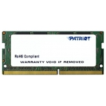 модуль памяти DDR4 4Gb 2133MHz, Patriot PSD44G213381S RTL PC4-17000 CL15 SO-DIMM 260-pin 1.5В single rank