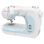 Швейная машина Janome 2039, бело-голубая