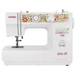 Швейная машина Janome Color 55, белая с рисунком