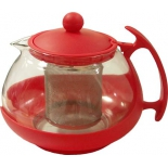 чайник заварочный Irit KTZ-075-005, красный
