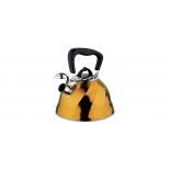 чайник для плиты Marta MT-3043, золотистый