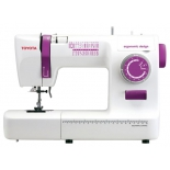 Швейная машина Toyota ECO26A, белая с фиолетовым