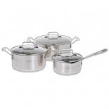 набор посуды Tefal (Jamie Oliver) E874S574 (нержавейка)