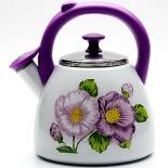 чайник для плиты Mayer & Boch МВ23086, эмалированный