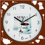 часы интерьерные Scarlet SC - WC1001K, настенные
