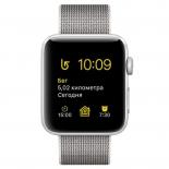 Умные часы Apple Watch Series 2 38mm (MNNX2RU/A) серебристо-белые