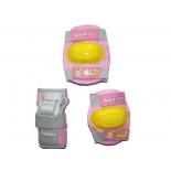 товар для детей MaxCity Little Rabbit (набор роликовой защиты), размер М, розовый