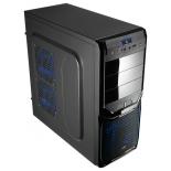 корпус Aerocool V3X Advance Blue Edition, ATX, 600Вт, USB 3.0