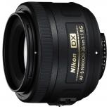 объектив для фото Nikon 35mm f/1.8G AF-S DX Nikkor