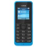 сотовый телефон NOKIA 105, голубой