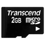 карта памяти Transcend microSD Memory Card 2Gb
