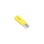 usb-флешка Qumo Tropic USB2.0 Flash Drive 16Gb (RTL), жёлтая