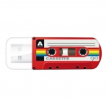 usb-флешка Verbatim 32Gb Mini Cassette Edition 49392 USB, красная