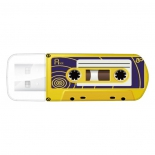 usb-флешка Verbatim 32Gb Mini Cassette Edition 49393 USB, желтая