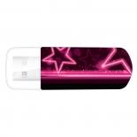 usb-флешка Verbatim 32Gb Mini Neon Edition 49390 USB, розовая