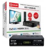 tv-тюнер D-Color DC1302HD, черный