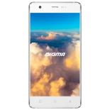 смартфон Digma S503 VOX 4G, белый/серебристый