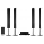 домашний кинотеатр LG BH9540TW (9.1, Blu-ray 3D), черно-серебристый