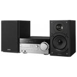музыкальный центр Sony CMT-SX7, черный/серебристый