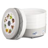 Сушилка для овощей и фруктов Ротор Дива СШ-07-06, 5 поддонов