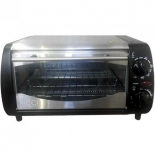 мини-печь, ростер Ricci TO10BTQS, серебристо-черная