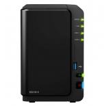 сетевой накопитель Synology DiskStation DS216+II (2x 2.5/3.5'', SATA - USB/LAN/eSATA)