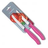 ножи (набор) Victorinox Swiss Classic (6.7836.L114B), розовые