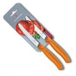 ножи (набор) Victorinox Swiss Classic (6.7836.L114B), оранжевые
