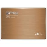 жесткий диск Silicon Power 240Gb SATA-III SP240GBSS3V70S25 V70 SF2281 9mm 3,5