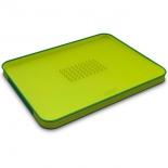разделочная доска Joseph Joseph  Cut&Carve Plus зеленая