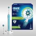 зубная щетка Oral-B Pro 570 Cross Action, голубая