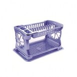 сушилка для посуды Росспласт Лидия РП-121 голубая
