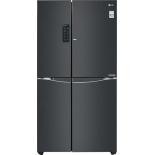 холодильник LG GC-M257 UGBM (с морозильником), чёрный