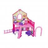 кукла Simba Еви в двухэтажном доме, с аксессуарами