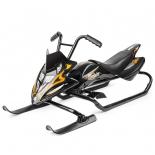 снегокат Small Rider Scorpion черный