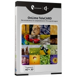 комплект спутникового телевидения Комплект цифрового ТВ OnLime TeleCard
