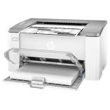 принтер лазерный ч/б HP LaserJet Ultra M106w, белый