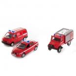 товар для детей Welly (набор машин) Пожарная служба,  3 шт.