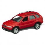 товар для детей Welly (модель машины) BMW X5, красная