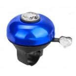 велозвонок Rich Toys с бриллиантом, чёрный / синий