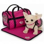 игрушка мягкая Simba Чихуахуа с сумкой, 20 см