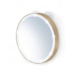 зеркало косметологическое Gezatone LM100 золотое