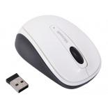 мышка Microsoft Wireless Mobile 3500 Black-White USB