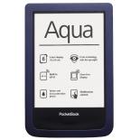 электронная книга PocketBook Aqua 640, тёмно-синяя