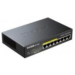 коммутатор (switch) D-Link DGS-1008P/D1A неуправляемый